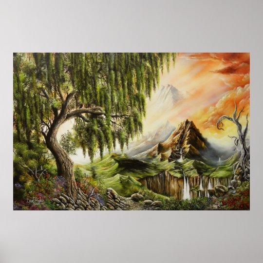 Eden Oil Paintings Poster