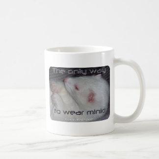 Eden the Mink Basic White Mug
