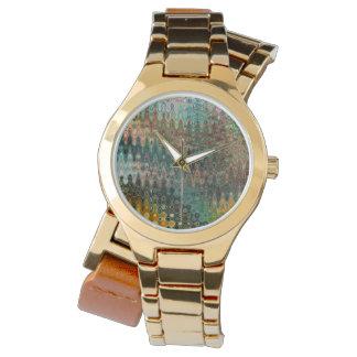 Eden Women's Wraparound Gold Watch by C.L. Brown