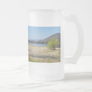 Edersee at the deer brook frosted glass beer mug