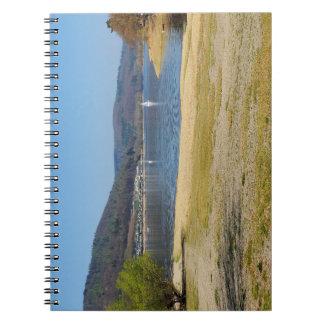 Edersee at the deer brook spiral notebook