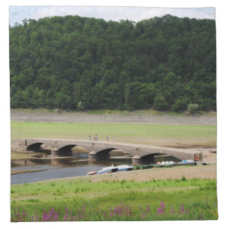 Edersee bridge of Asel Napkin