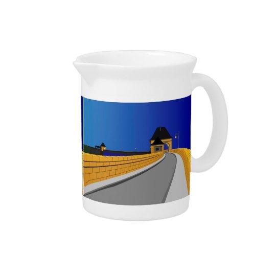 Edersee concrete dam drink pitcher