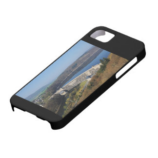 Edersee concrete dam in the spring iPhone 5 case