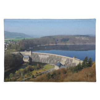 Edersee concrete dam in the spring placemat