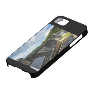 Edersee concrete dam with closed forest-hits a iPhone 5 case