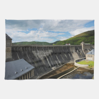 Edersee concrete dam with closed forest-hits a kitchen towels