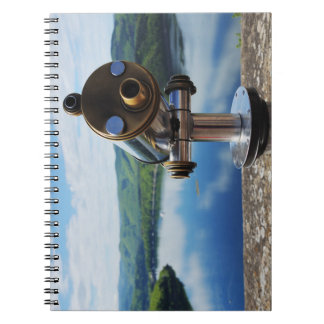 Edersee prospect of closed forest-hits a corner spiral notebook