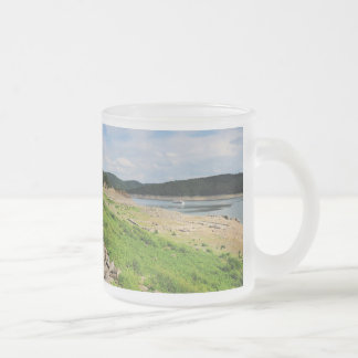 Edersee village place of Berich Frosted Glass Coffee Mug