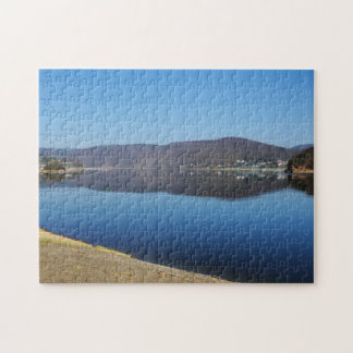 Edersee when bringing living jigsaw puzzle