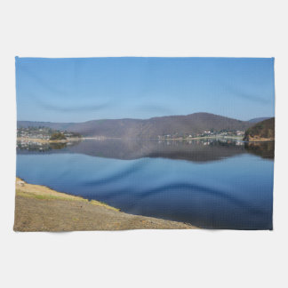 Edersee when bringing living tea towel