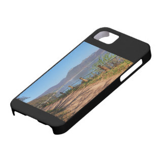 Edersee with lock forest-hit a corner barely there iPhone 5 case