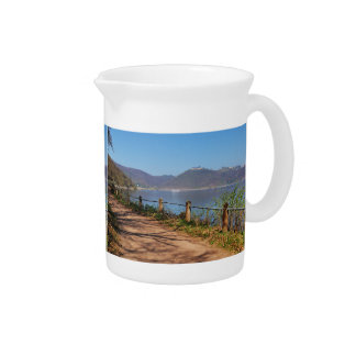 Edersee with lock forest-hit a corner pitcher