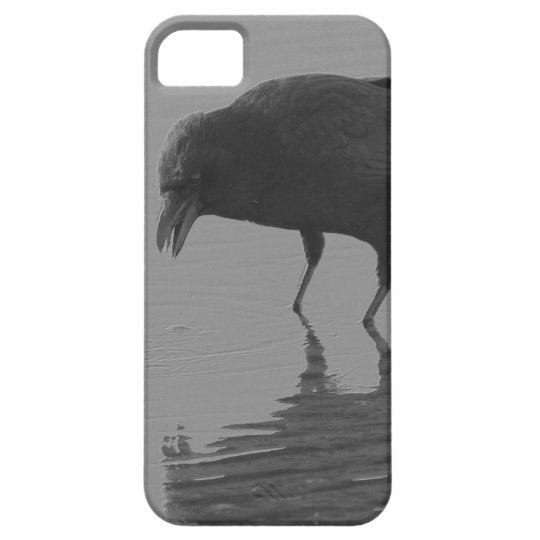 Edgar Allan Crow Phone Case