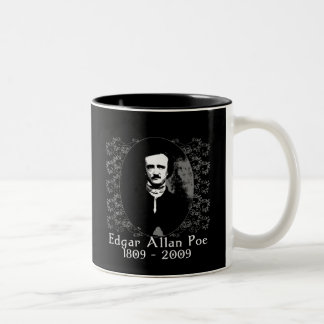 Edgar Allan Poe 1809-2009 Anniversary T shirt Mug