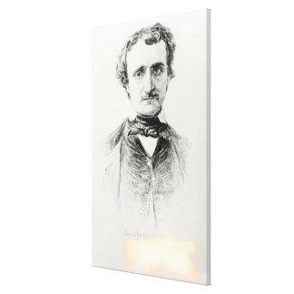 Edgar Allan Poe  1907 Canvas Prints
