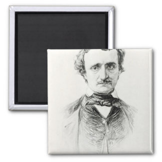 Edgar Allan Poe  1907 Magnet