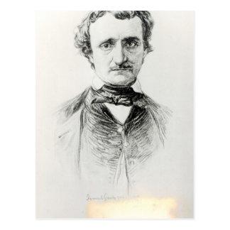 Edgar Allan Poe  1907 Postcard