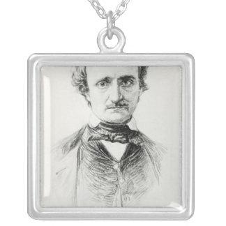 Edgar Allan Poe  1907 Silver Plated Necklace