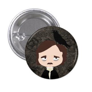 Edgar Allan Poe 3 Cm Round Badge