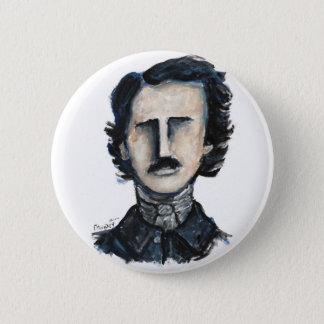 edgar allan poe 6 cm round badge