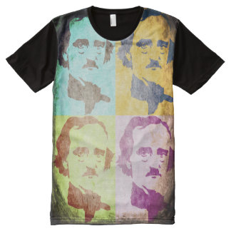 Edgar Allan Poe All-Over Print T-Shirt