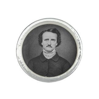 Edgar Allan Poe - Brady photo portrait Ring