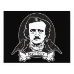 Edgar Allan Poe Custom Invite