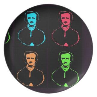 Edgar Allan Poe Dinner Plate