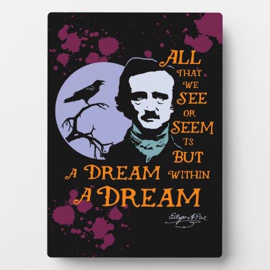 Edgar Allan Poe Dream Within a Dream Quote