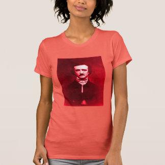Edgar Allan Poe in Red T-Shirt
