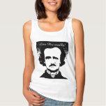 """Edgar Allan Poe """"Live Poe-tically"""" Tank Top"""