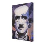 Edgar Allan Poe Portrait Gallery Wrapped Canvas