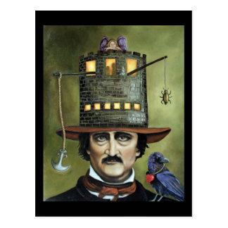 Edgar Allan Poe Postcards