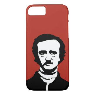 Edgar Allan Poe Silhouette iPhone 7 Case