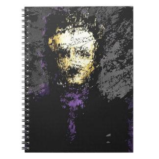 Edgar Allan Poe Spiral Note Book