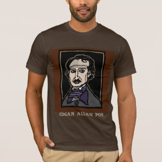 Edgar Allan Poe tee by FacePrints