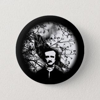 Edgar Allan Poe 'The Raven' 6 Cm Round Badge