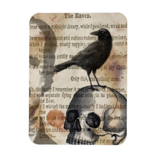 Edgar Allan Poe The Raven Magnet