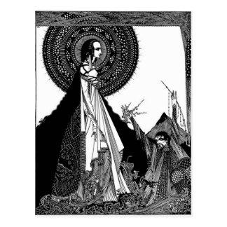 Edgar Allan Poe's Ligeia Postcard