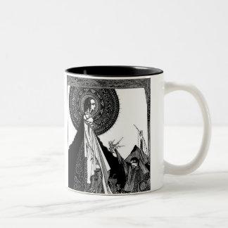 Edgar Allan Poe's Ligeia Two-Tone Coffee Mug