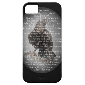 "Edgar Allen Poe ""The Raven"" Halloween Poem bird Barely There iPhone 5 Case"