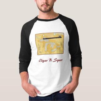 Edgar B. Speer Great Lakes Ship on  Chart T-Shirt