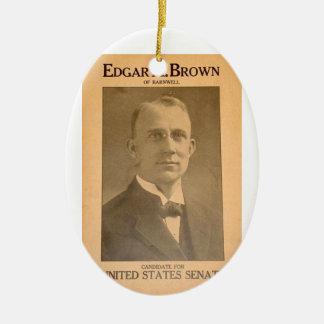 Edgar Brown Christmas Ornament