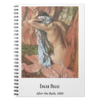 Edgar Degas, After the Bath, Fine Art Notebook