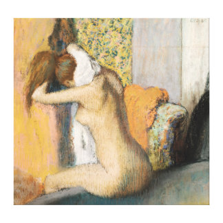 Edgar Degas | After the Bath, Woman Drying Neck Canvas Print