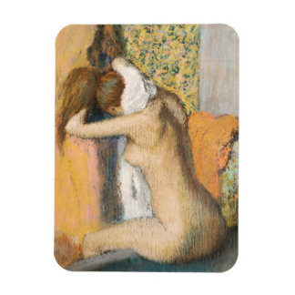 Edgar Degas | After the Bath, Woman Drying Neck Magnet