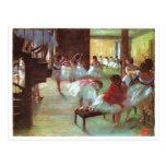 Edgar Degas - Ballet 1879-80 Shoe Stair Dancer Oil