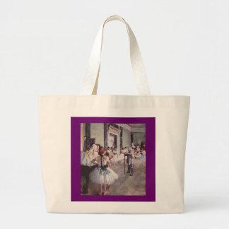 Edgar Degas Ballet Lesson Jumbo Tote Bag