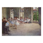 Edgar Degas - Ballet Rehearsal Class 1873 oil